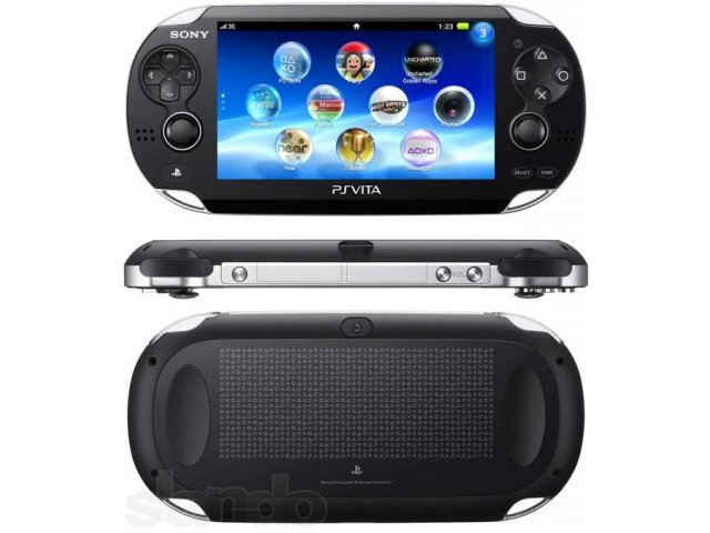 Игровая консоль Sony PlayStation Vita 3G + 4Gb card арт.