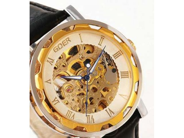 Goer Mens Gold Watches